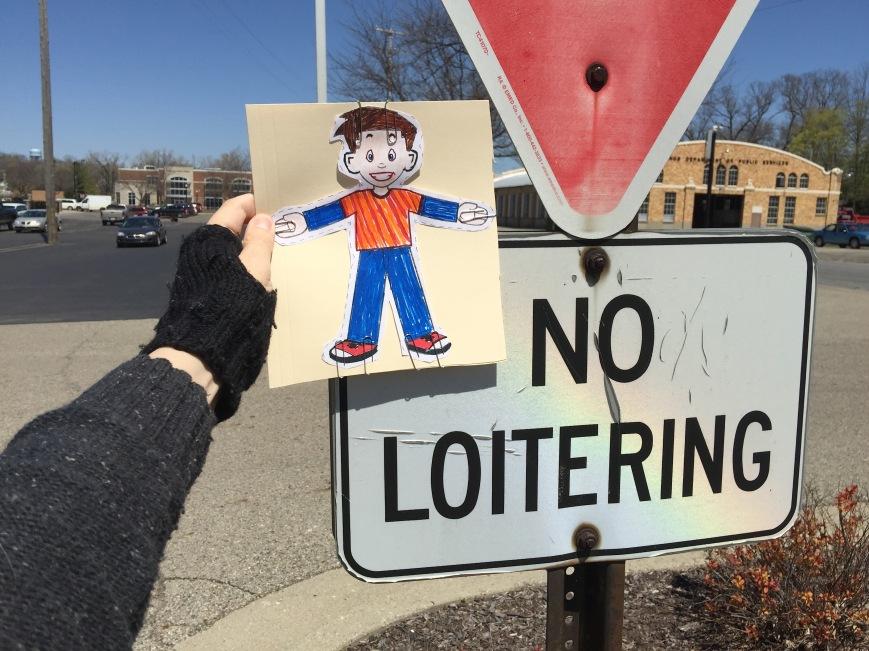 12 No Loitering