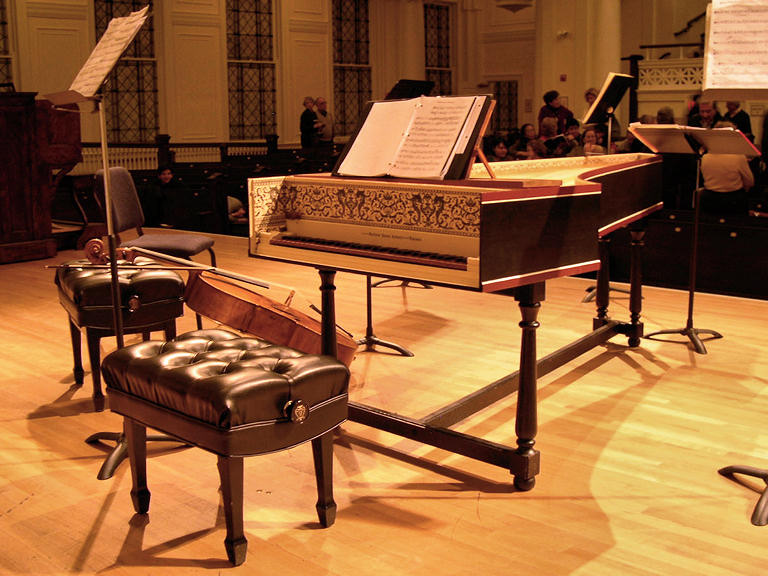 Harpsichord and Cello